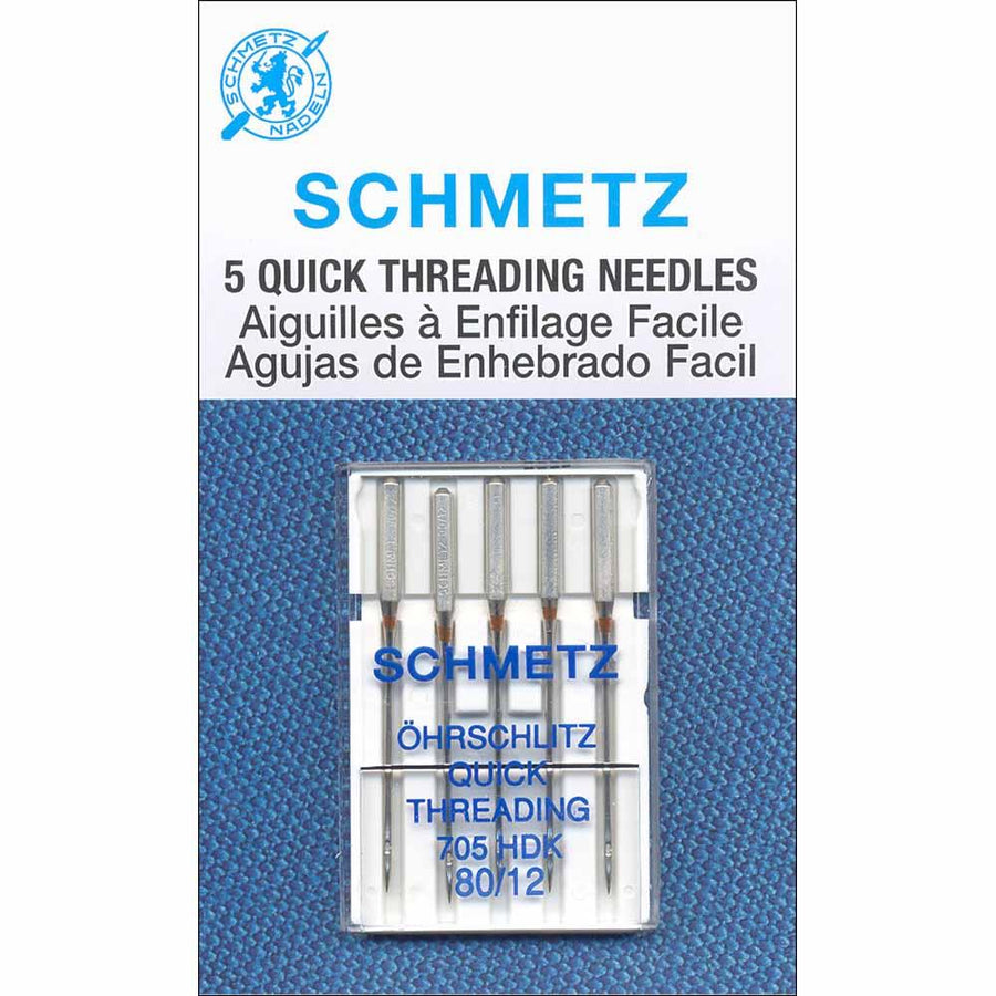 SCHMETZ - Quick Threading Needles - 80/12