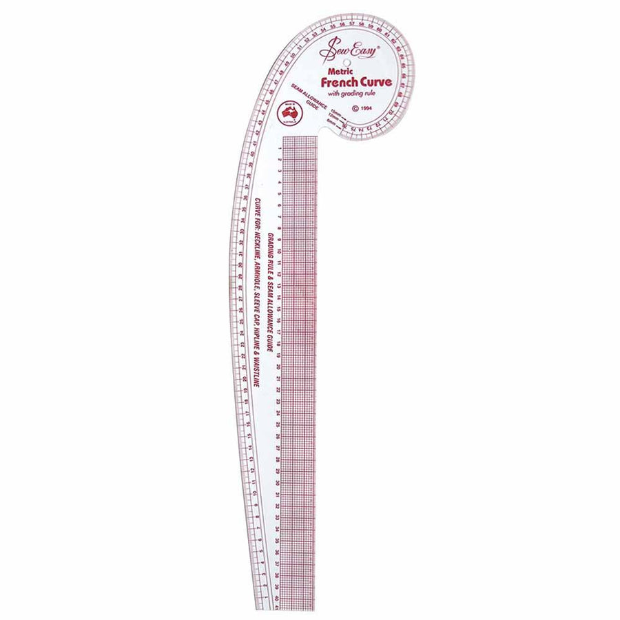 SEW EASY - Metric French Curve - 30