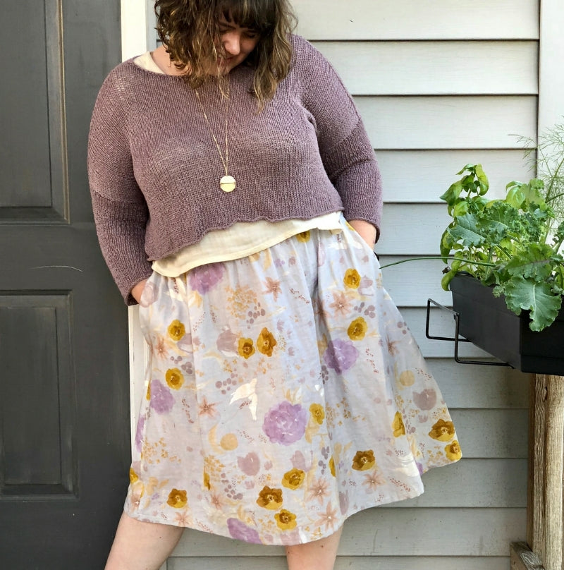 Sew Liberated - Gypsum Skirt
