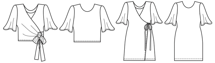 Papercut - Sequence Blouse/Dress
