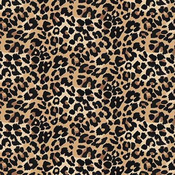 Stof - Cotton - Avalana - Jersey - Cheetah Print