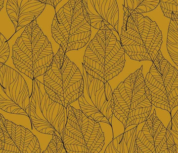 Stof - Cotton - Avalana - Sweat Brushed - Mustard Leaf