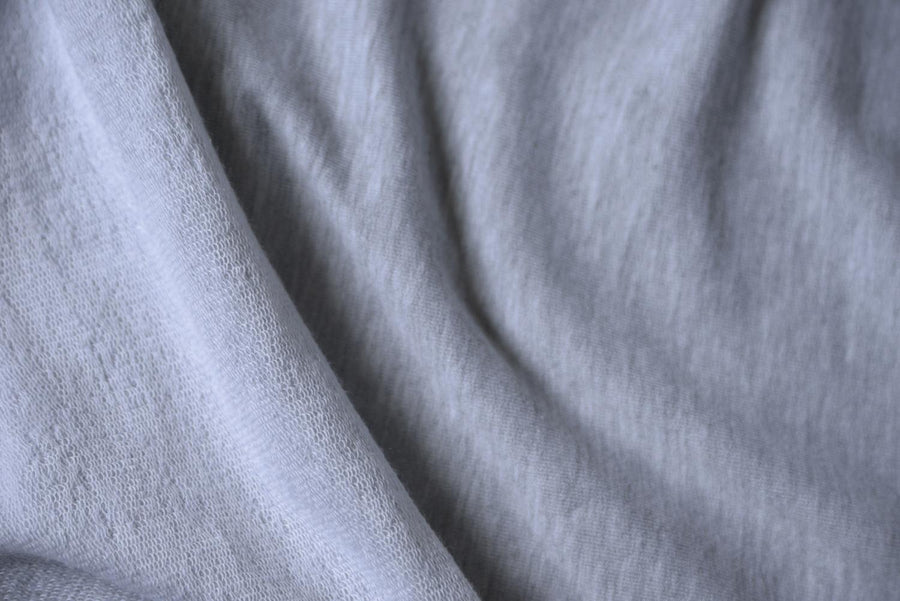 Tencel Organic Cotton - French Terry - Grey Mix