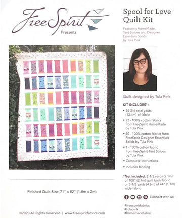 Tula Pink - Quilting Kit - Spool for Love