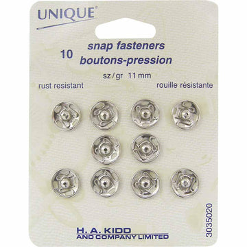UNIQUE - Snap Fasteners- 11mm