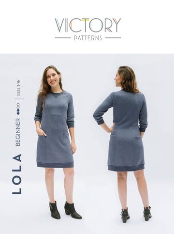 Victory Patterns - Lola Dress