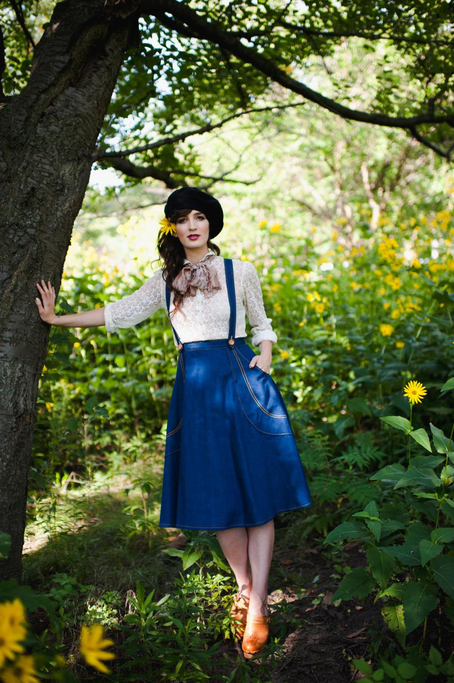 Victory Patterns - Madeleine Skirt