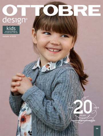 Ottobre - Pattern Magazine - Kid's Autumn 2020
