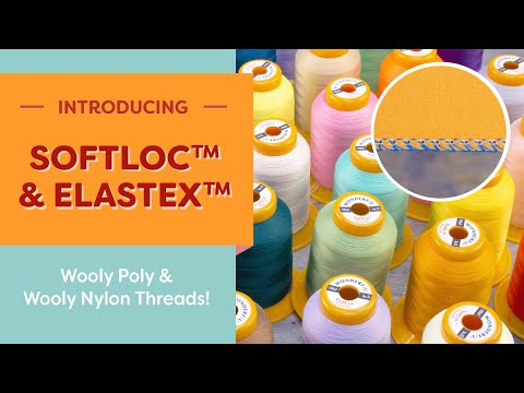 Wonderfil - SoftLoc Wooly Poly - Serger Thread