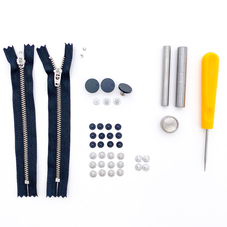Kylie and the Machine - Jeans Hardware Kit - 15cm