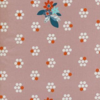 Cotton + Steel - Cotton - Fruit Dots - Pink