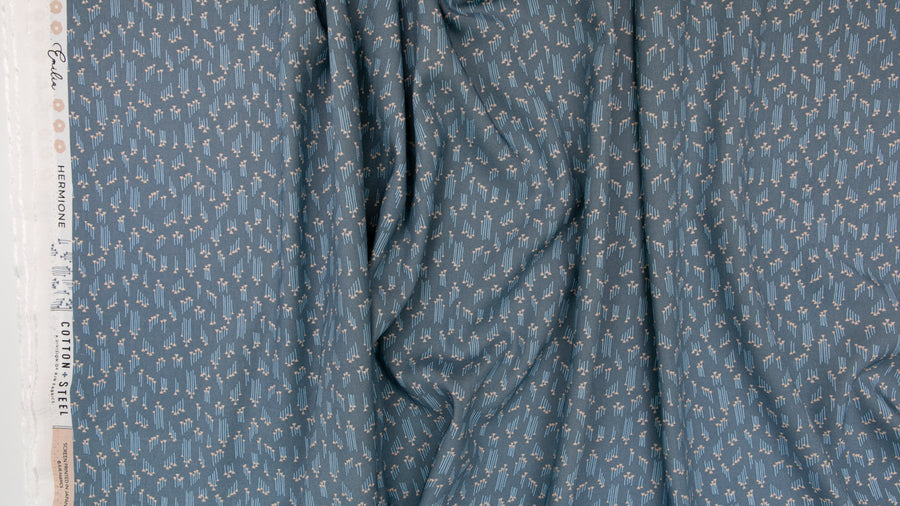 Cotton + Steel - Rayon - Emilia - Hermione - Grey
