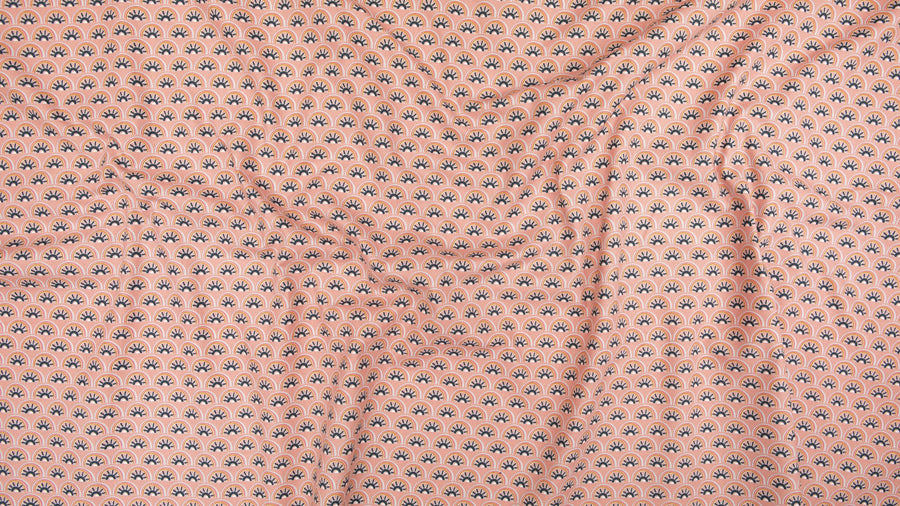 Cotton + Steel - Cotton  - Sahara - Coral
