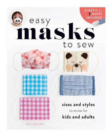 Easy Masks to Sew - Book