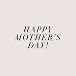 Sending love to all the mums out there ♥
