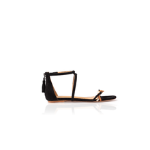 Load image into Gallery viewer, Les amoureuses flat sandals