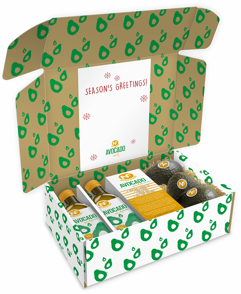 Newfound Foods Avocado Oil Gift Box