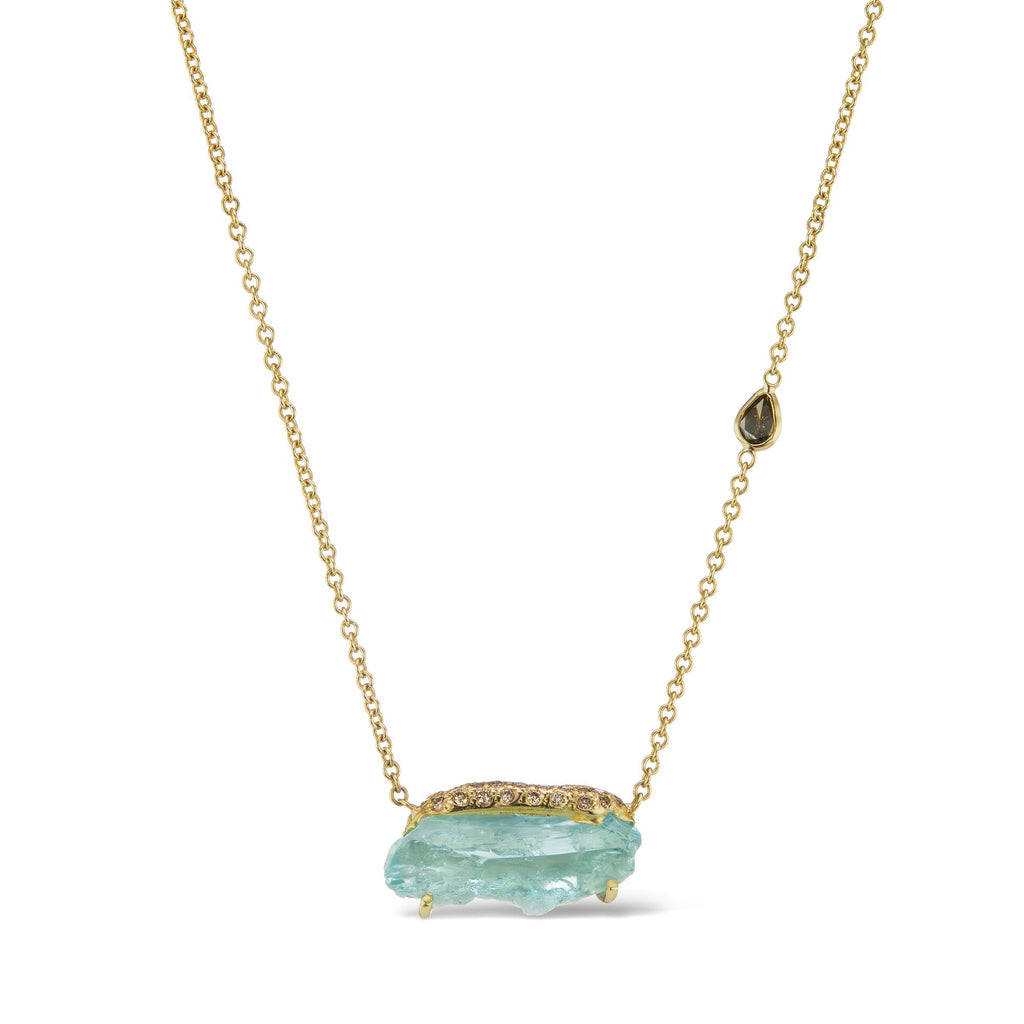 Ibra Necklace - Aquamarine
