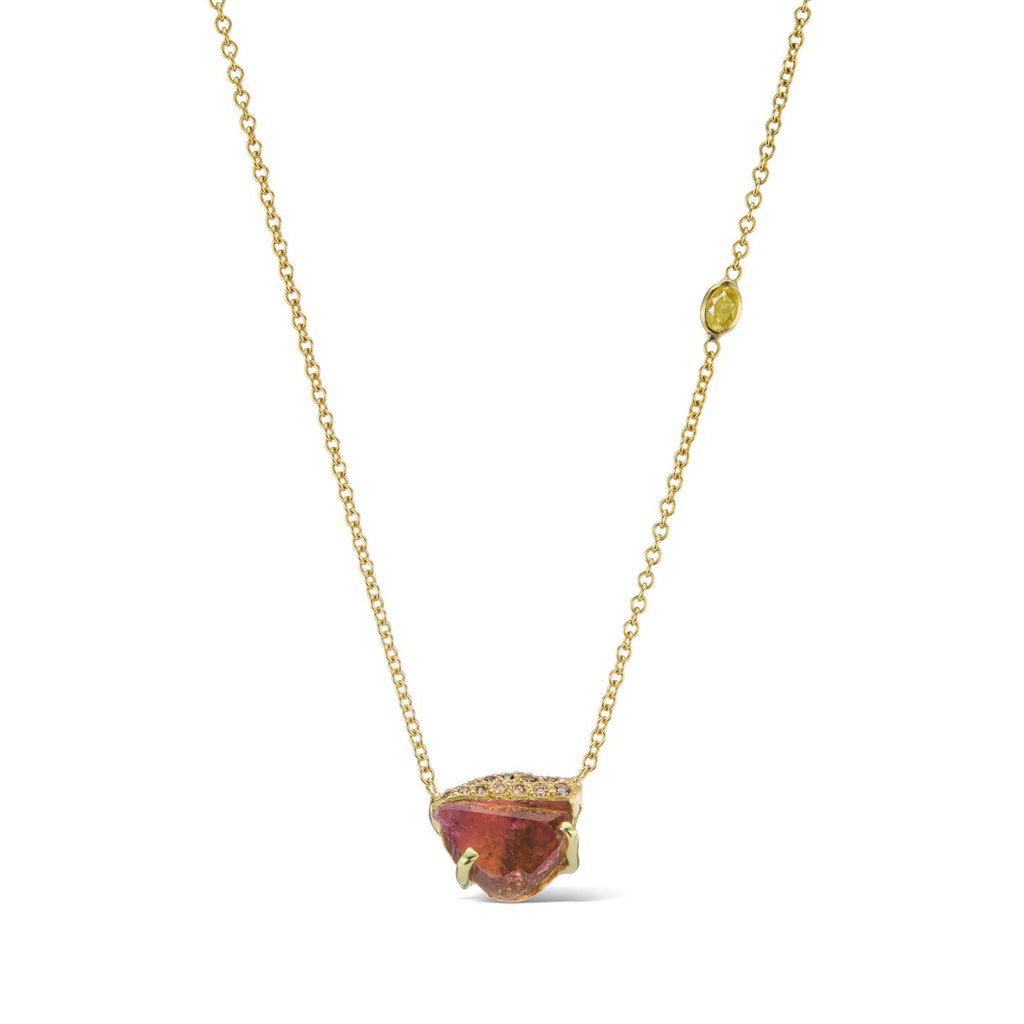 Ibra Necklace - Pink Tourmaline