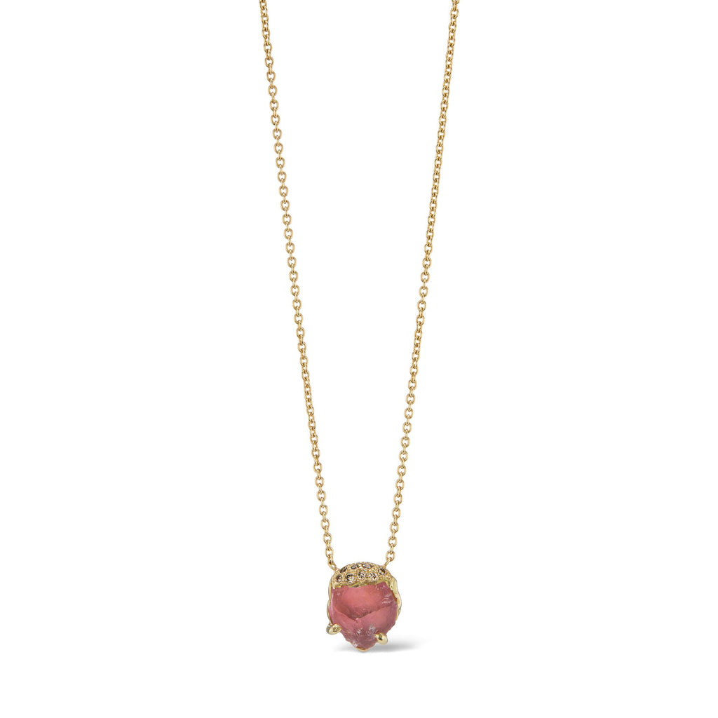 Christopher Necklace - Pink Tourmaline