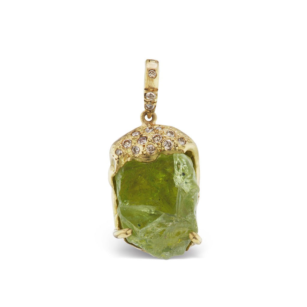 Esther Necklace - Peridot