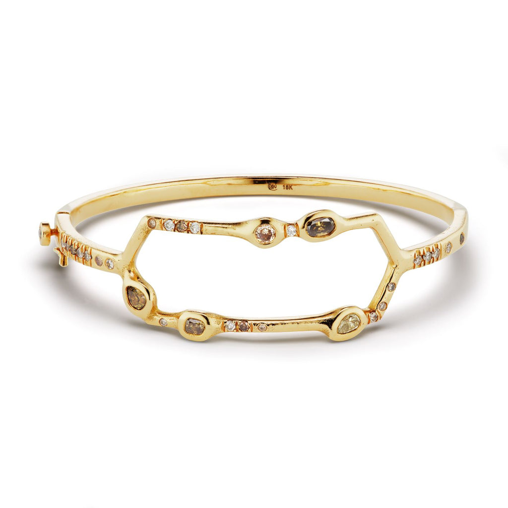 Debra Hinged Bangle