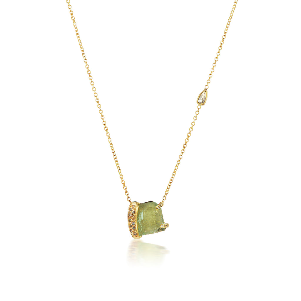 Ibra Necklace - Green Beryl