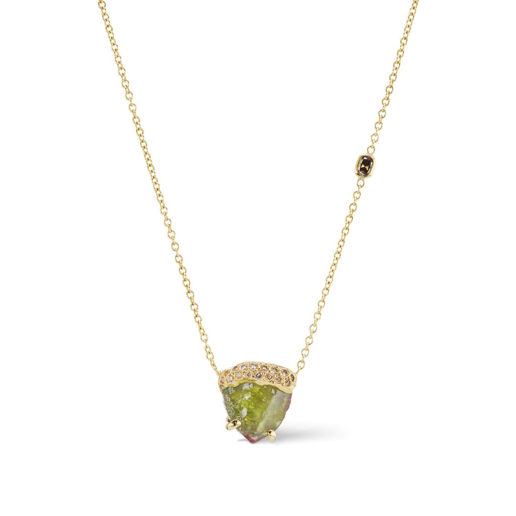 Ibra Necklace - Green Tourmaline