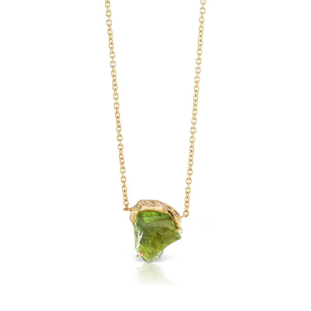 Christopher Necklace - Chrome Tourmaline