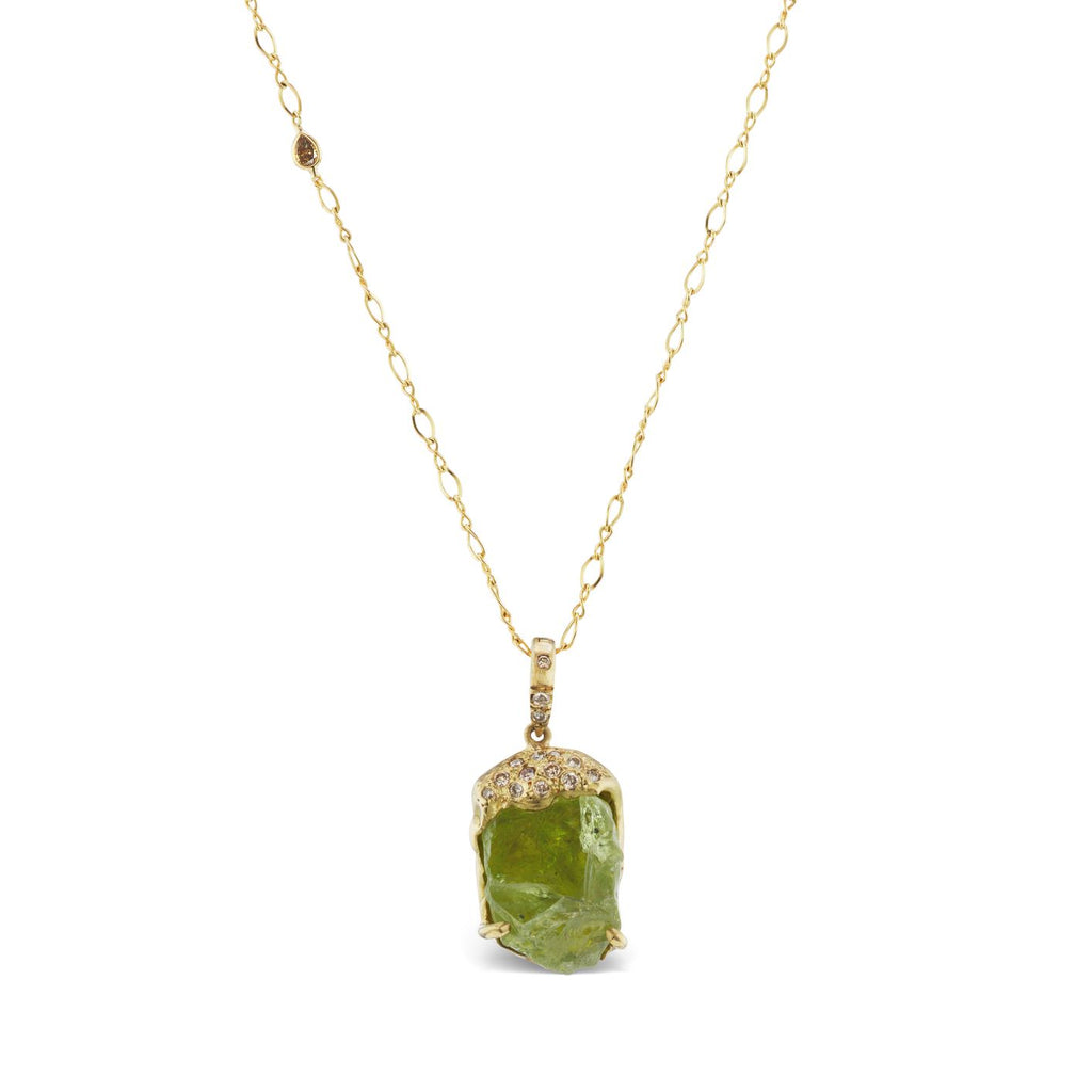 Esther Pendant - Peridot