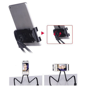 Flexible Neck Cell Phone Holder Universal Mobile Phone Stand Lazy Bracket Mount for iPhone X 8 Samsung S8 S9 S10