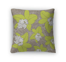 Load image into Gallery viewer, Throw Pillow, Floral Pattern