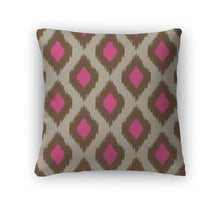 Load image into Gallery viewer, Throw Pillow, Modern Ikat Pattern For Web Or Home Decor