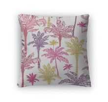 Load image into Gallery viewer, Throw Pillow, Palm Trees Pattern