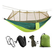 Load image into Gallery viewer, Ultralight Outdoor Camp Mosquito Net Hammock Flyknit Hang Bed