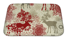 Load image into Gallery viewer, Bath Mat, Retro Christmas Pattern Christmas