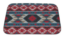Load image into Gallery viewer, Bath Mat, Knitted Navajo Pattern