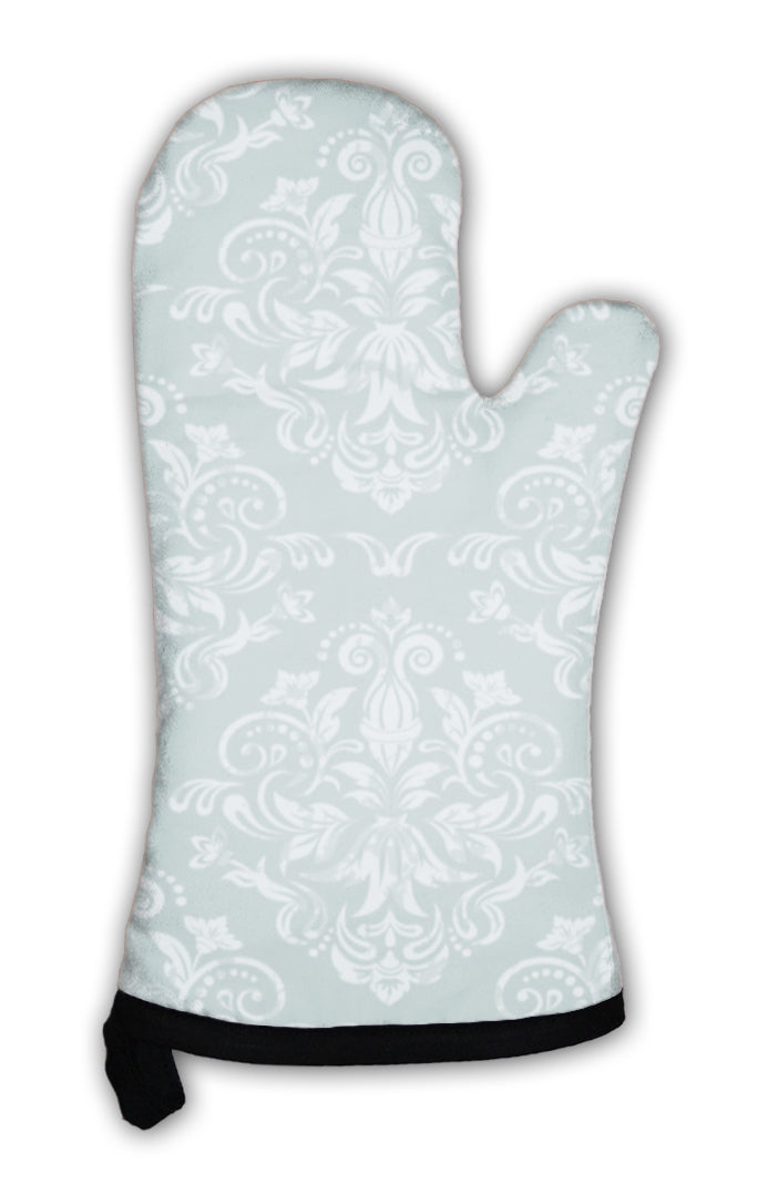 Oven Mitt, Retro Wallpaper