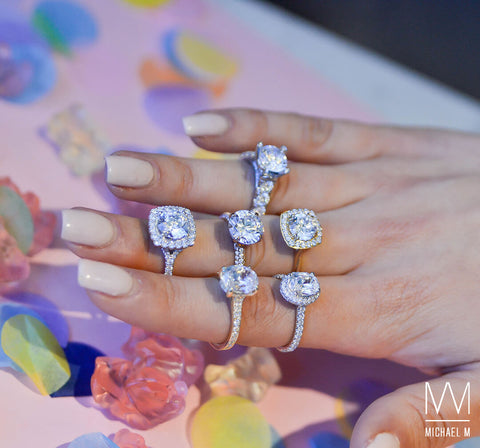 CUSTOMIZABLE MICHAEL M ENGAGEMENT RINGS