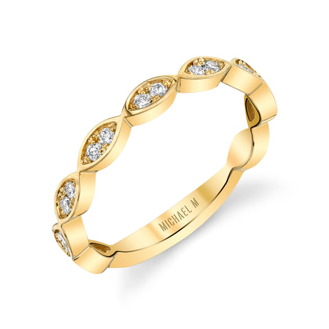 Diamond Marquise Band