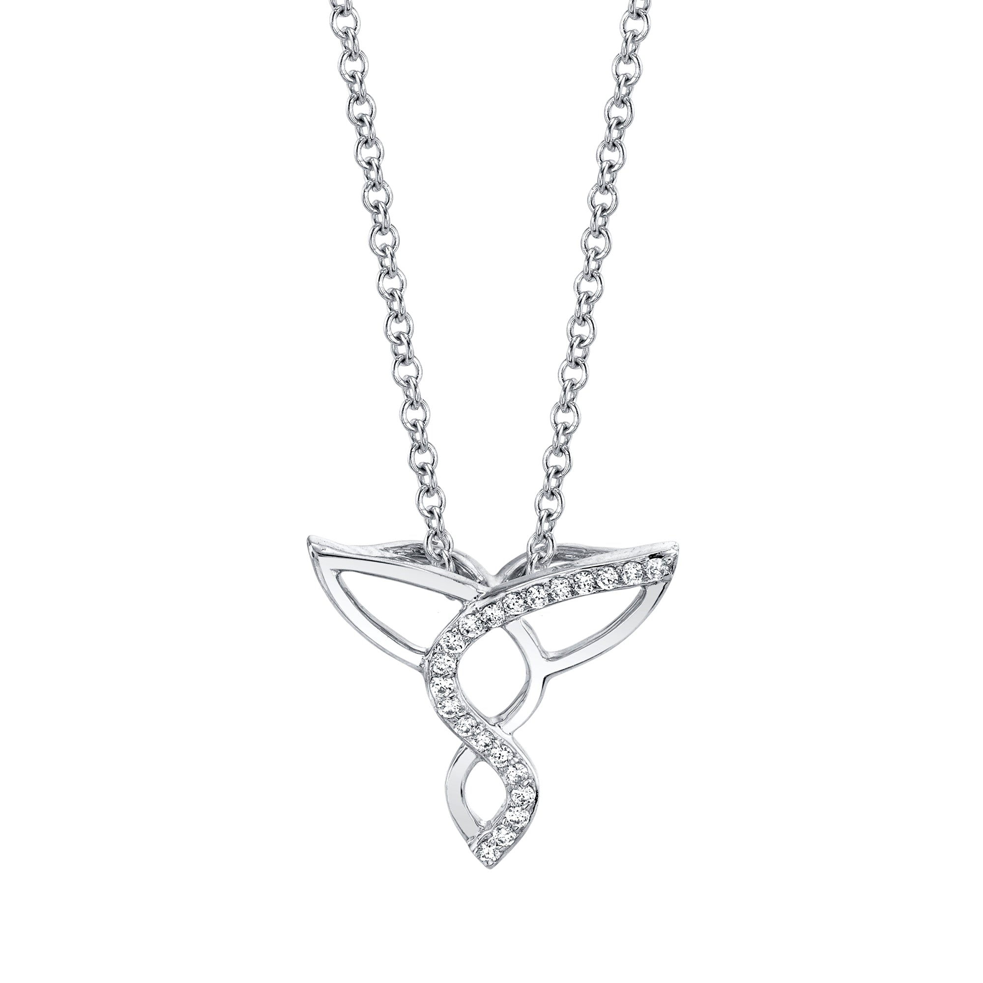 Cascading Diamond Necklace