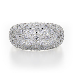 Dome Diamond Ring