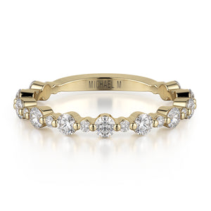 Classic Diamond Cluster Band