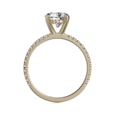CROWN R706-1.5 Brilliant Round Solitaire