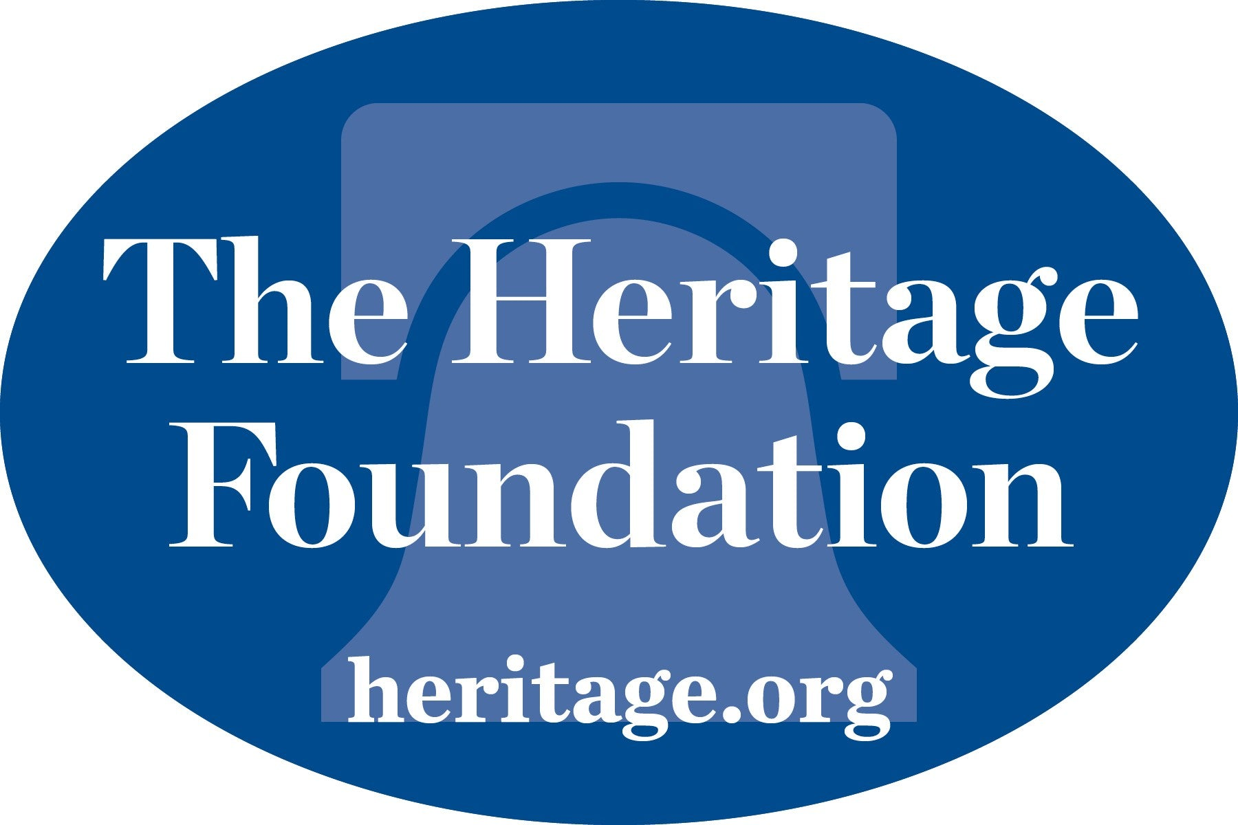 The Heritage Foundation Window Decal – Shop The Heritage Foundation