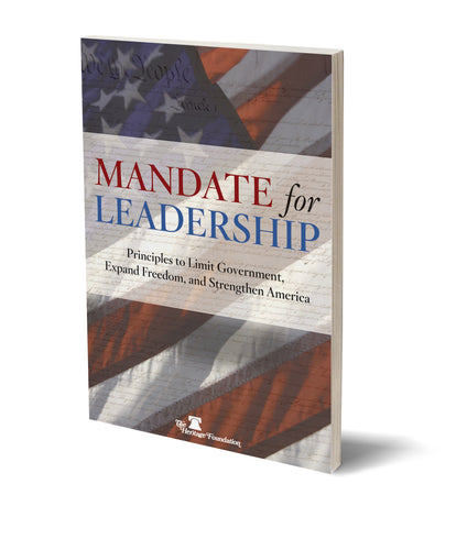 Mandate for Leadership