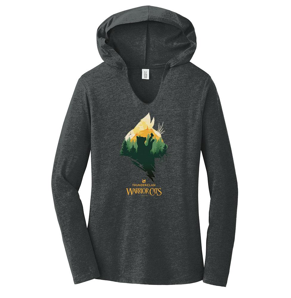 Epic ThunderClan -Women's Hooded Long Sleeve T-Shirt