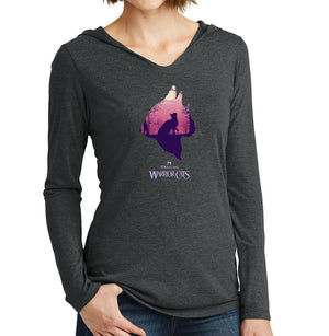 Epic StarClan -Women's Hooded Long Sleeve T-Shirt