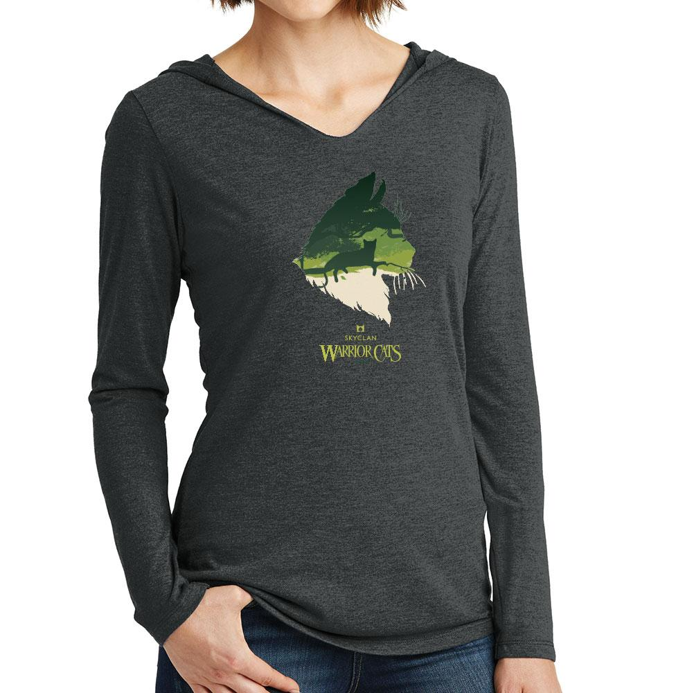 Epic SkyClan -Women's Hooded Long Sleeve T-Shirt