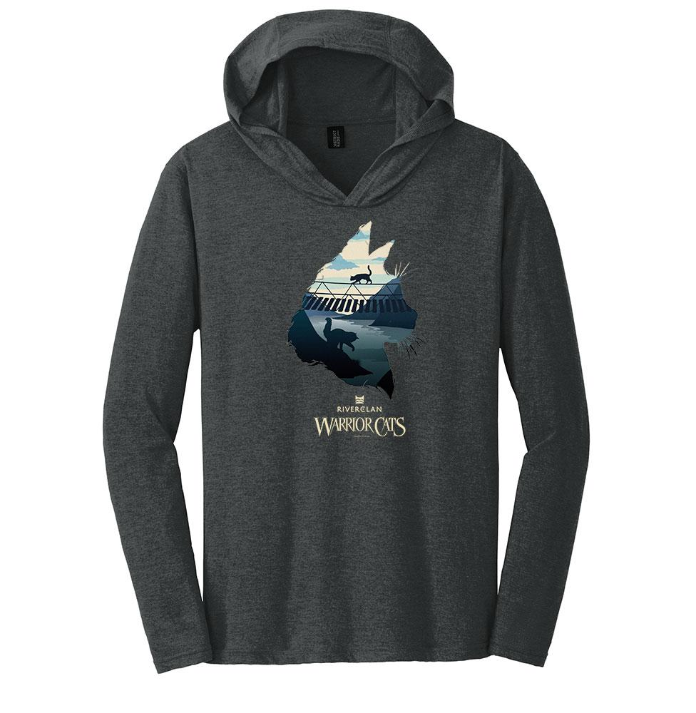 Epic RiverClan -Men's Hooded Long Sleeve T-Shirt